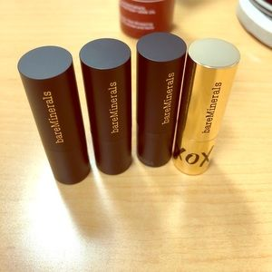 Brand new bare minerals mini lipsticks!